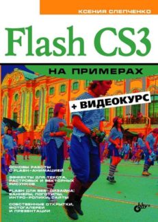 Flash CS3 на примерах (+Видеокурс на CD)