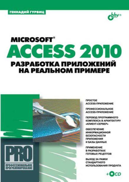 Microsoft Access 2010. Разработка приложений на реальном примере